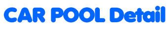Car Pool Detail Logo